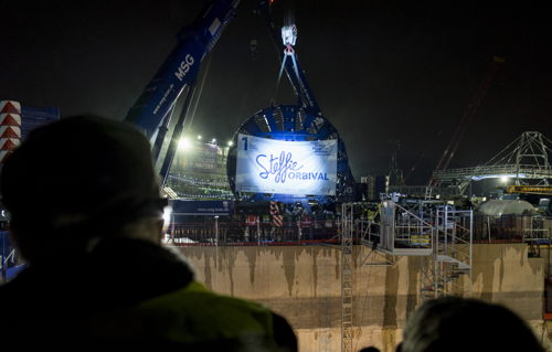 Preview: Launch ceremony for the first tunnel boring machine of the Grand Paris Express project