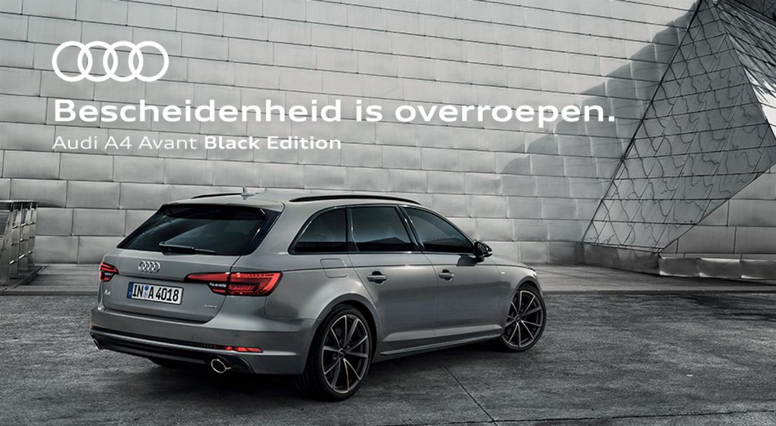 Prophets goes black voor Audi