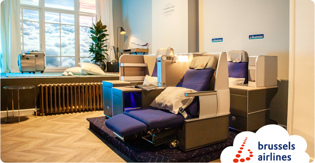 "Brussels Airlines opens a ""boutique hotel in the air"""