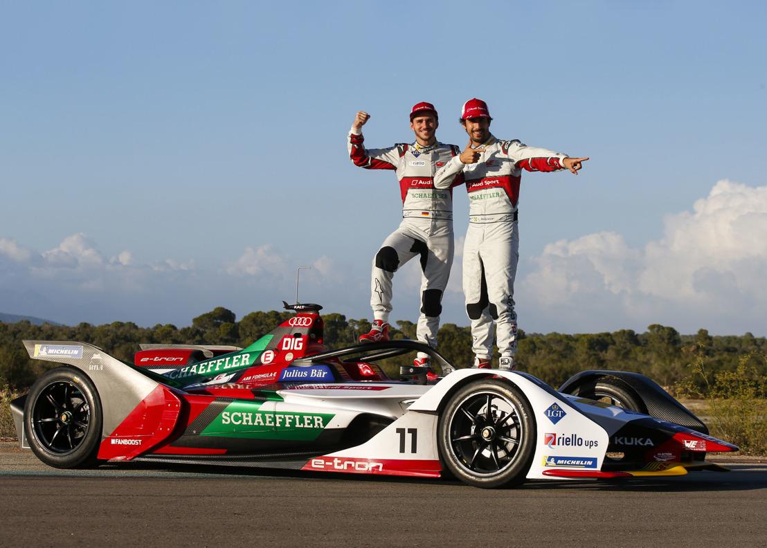 Audi onthult e-tron FE05 voor nieuw Formula E- seizoen