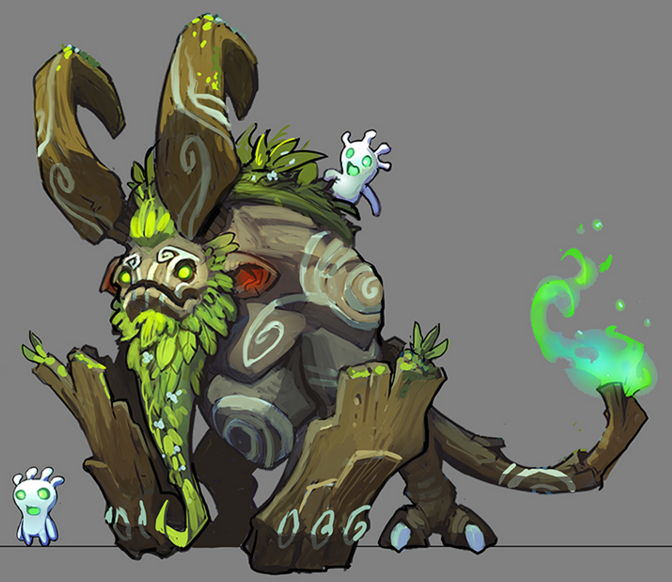Sneak peek at art for new Lionheart game