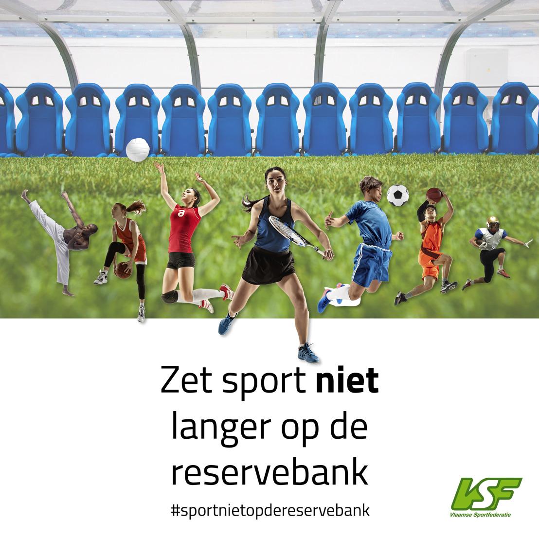 """Vlaamse sportfederaties, 20.000 sportclubs en 1,4 miljoen sporters lanceren open brief aan Overlegcomité en GEMS: """"Zet sport niet langer op de reservebank"""""""