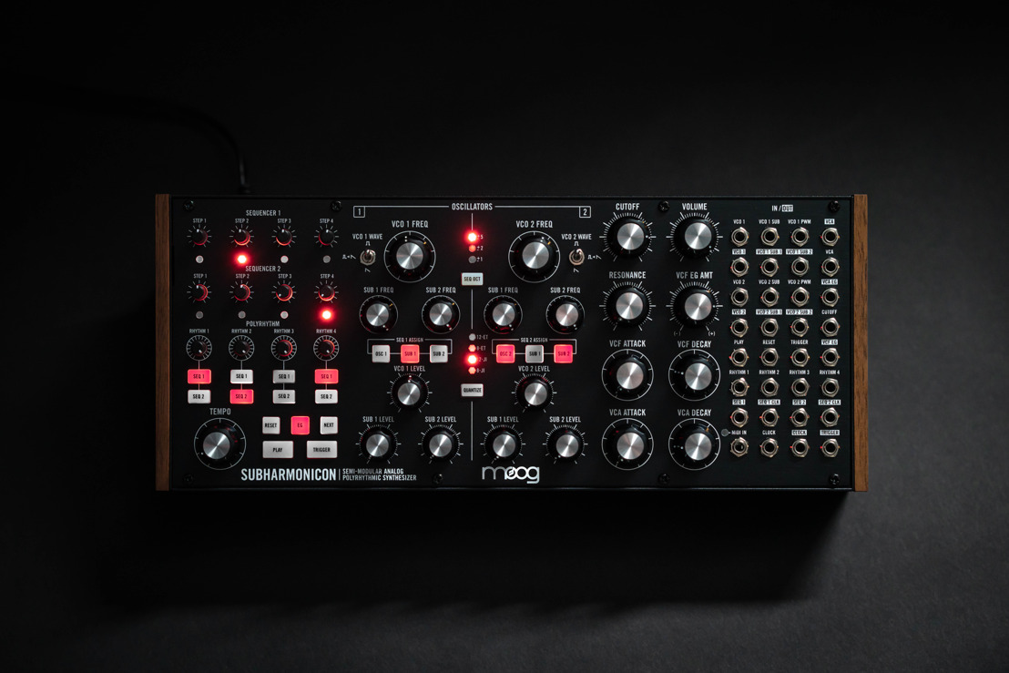 Introducing Moog's New Sonic Playground: Subharmonicon