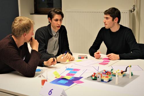 KU Leuven Studenten pitchen businesscase rond Artificial Intelligence op slotsessie Learning Garage