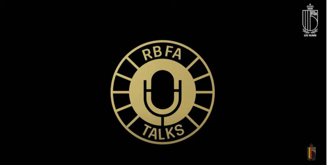 La Fédération Belge de Football lance sa propre chaîne de podcast : RBFA Talks