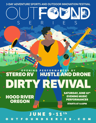 MUSIC BASH IN HOOD RIVER: OUTFOUND SERIES