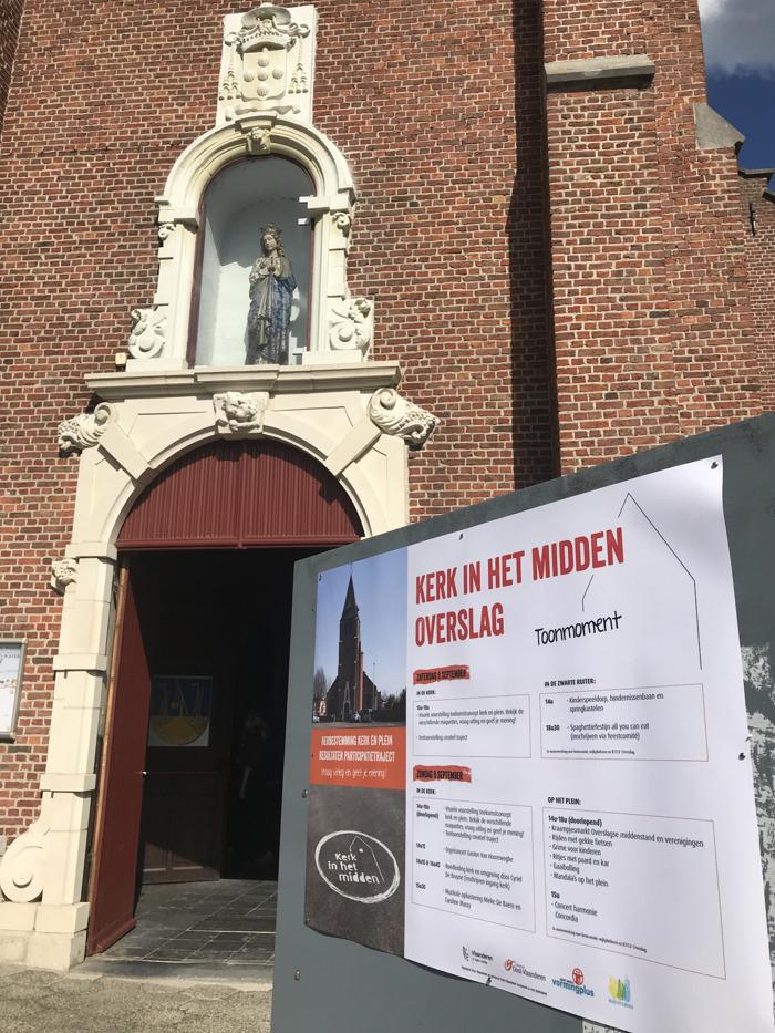 Kerk in het midden: parochiekerk Overslag dient aanvraag in voor haalbaarheidsstudie bij Projectbureau Herbestemming Kerken