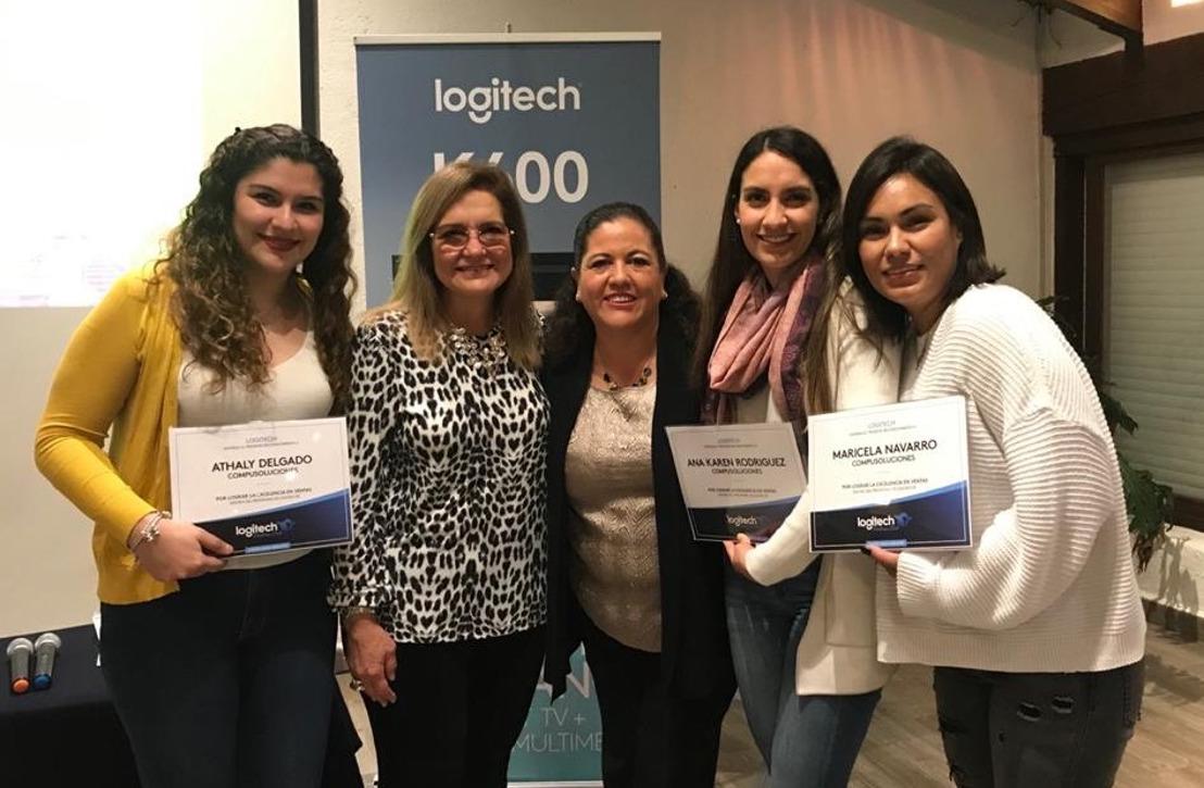 Logitech premió a los mejores ejecutivos de venta de su programa Partners Club