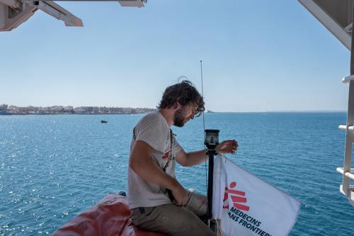 MSF solicita que se suspenda la detención del barco de rescate Geo Barents