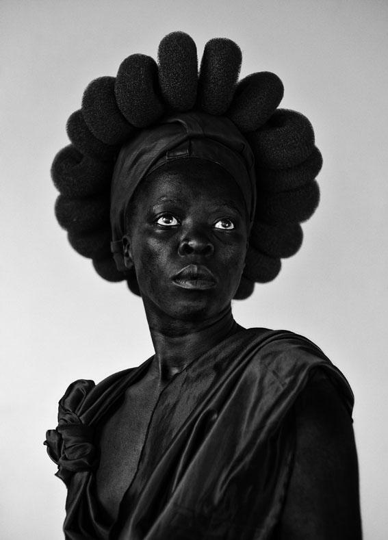 Zanele Muholi, Ntozakhe II, Parktown, 2016. Courtesy of Stevenson, Cape Town/ Johannesburg and Yancey Richardson, New York.