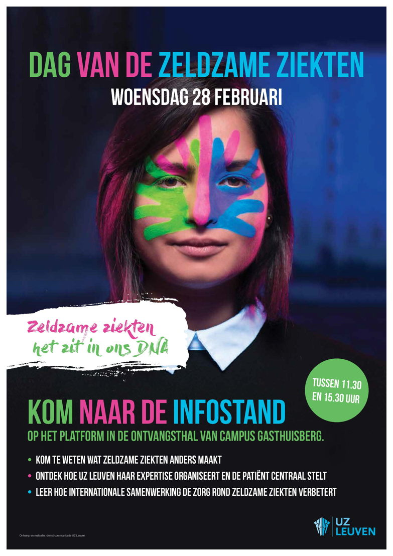 Dag van de Zeldzame Ziekten copyright UZ Leuven