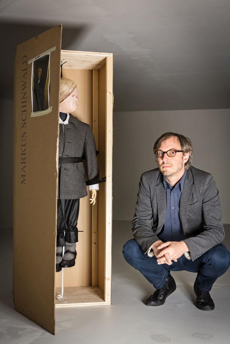 Portret, Markus Schinwald, © foto: Dirk Leemans