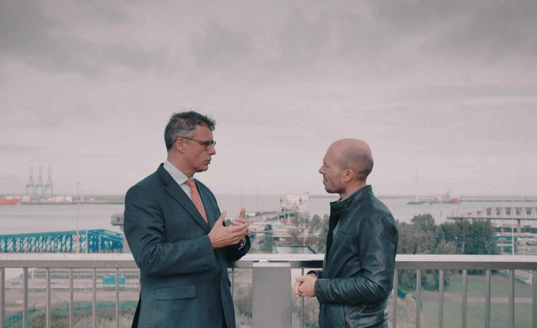 Joachim Coens en Tom Van de Weghe - (c) VRT