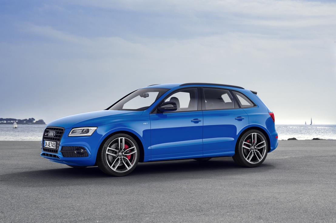 Une puissance encore accrue et un équipement royal : l'Audi SQ5 TDI plus de 250 kW (340 ch)