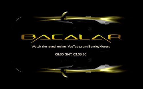 THE BENTLEY MULLINER BACALAR - THE ULTIMATE TWO-SEAT GRAND TOURER