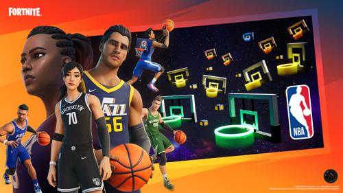 Fortnite X NBA: El Modo Creativo de Fortnite le da la bienvenida a la NBA