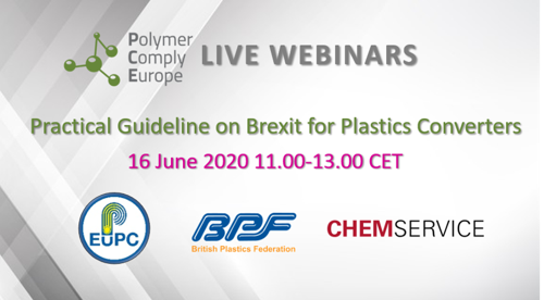 Last week to register: Practical Guideline on Brexit for Plastics Converters