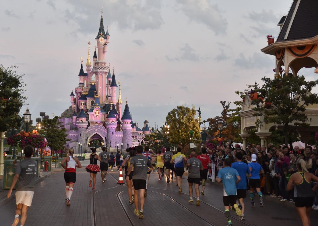 Disneyland Paris start verkoop tweede editie Disneyland Paris - Val d'Europe Halve Marathon Weekend