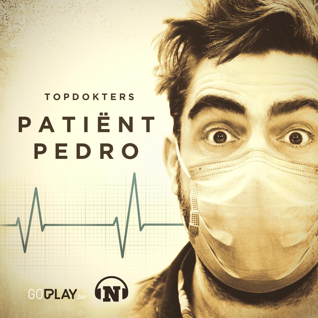 Vanaf maandag laat Pedro Elias zich binnenste buiten keren door verschillende Topdokters in de podcast Topdokters - Patiënt Pedro