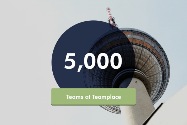 Preview: Teamplace Achieves Major Milestone: Over 5,000 Teams Successfully Working Together in the Cloud