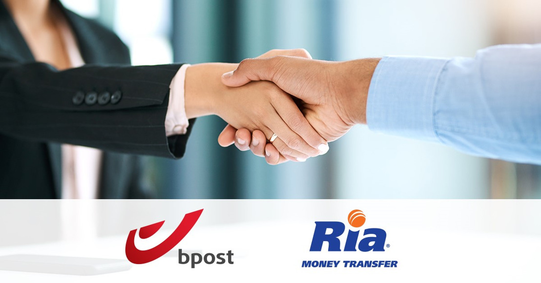 bpost group partners with Ria Money Transfer to facilitate international money transfers