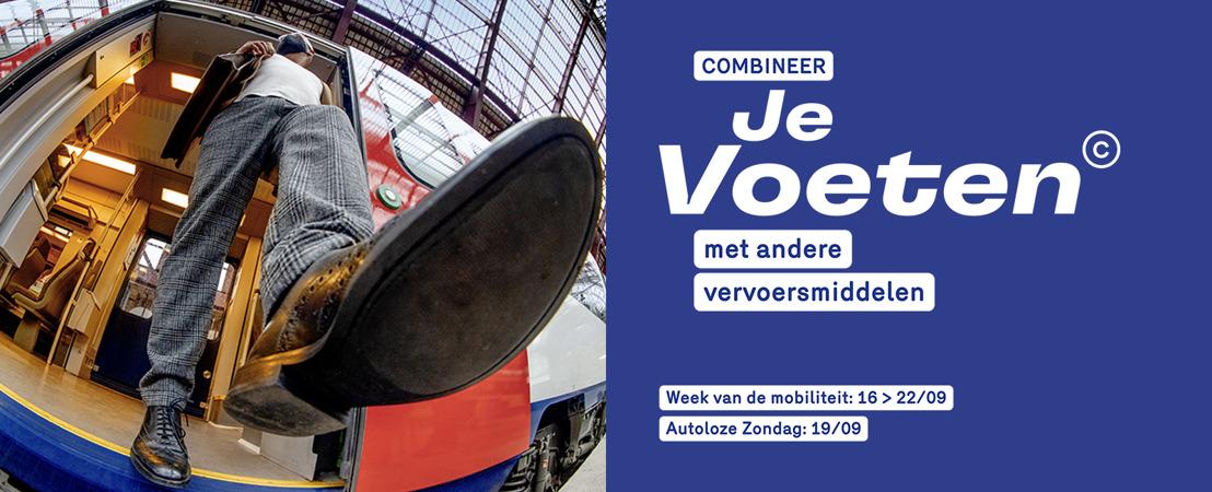 Binnenkort is het weer Week van de Mobiliteit en Autoloze Zondag, samen te beleven met Je Voeten©