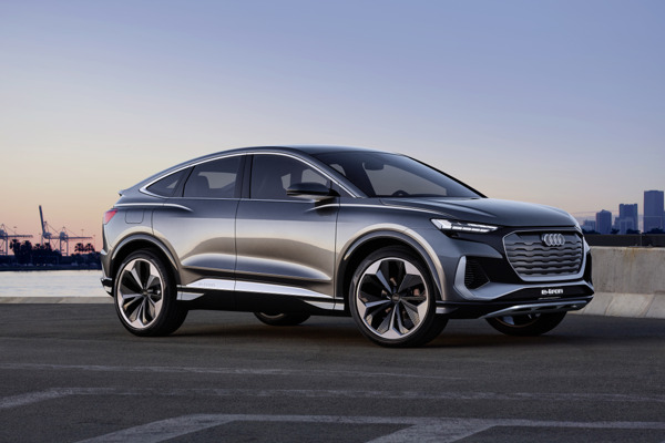 Preview: De Audi Q4 Sportback e-tron concept