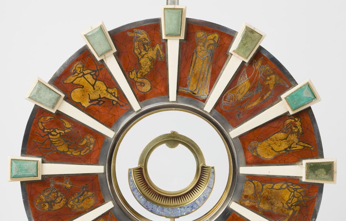 Dom Martin in collaboration with  Wolfers Frères & Marcel Wolfers, Detail of a Monstrance, Leuven/Brussel, 1931, Sint-Theodardus Beringen-Mijn © KIK-IRPA, Brussel
