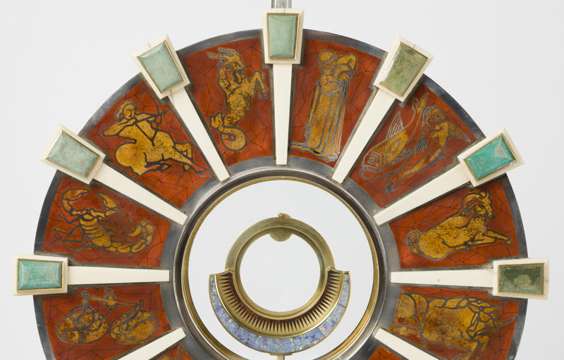 Dom Martin in collaboration with  Wolfers Frères & Marcel Wolfers, Detail of a Monstrance, Leuven/Brussel, 1931, Sint-Theodardus Beringen-Mijn © KIK-IRPA, Brussel