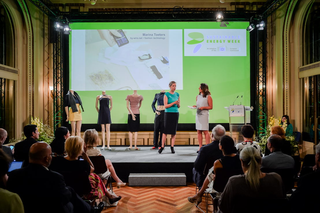 Marina Toeters's sustainable fashion show