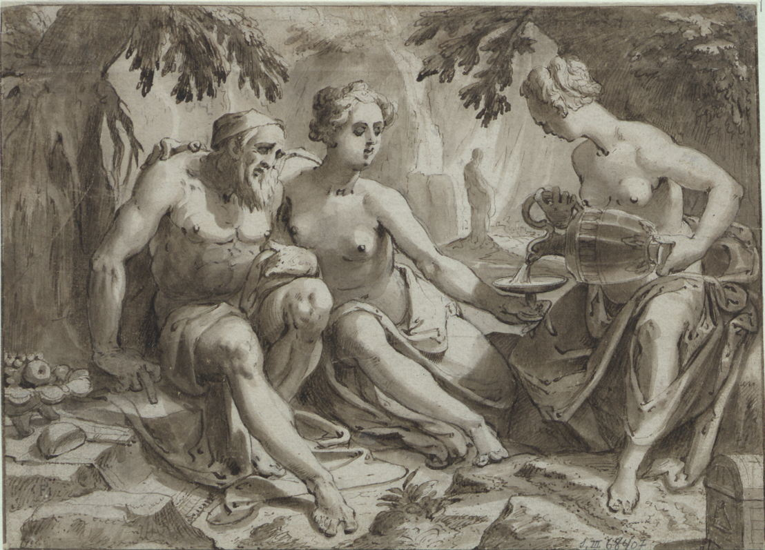 Loth et ses filles (Karel van Mander)
