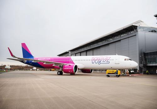 WIZZ AIR NEEMT ZIJN EERSTE A321NEO IN ONTVANGST