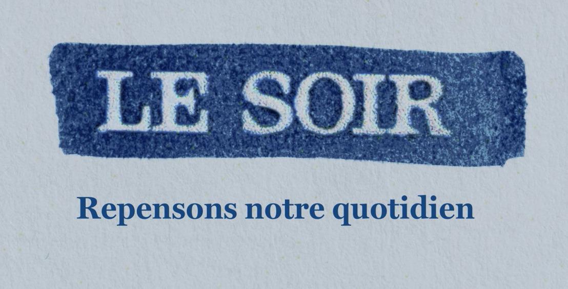 Air markeert de missie van Le Soir