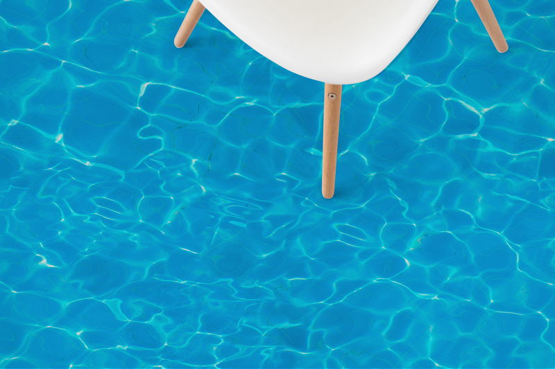 Pool II   Water Effect Vinyl Flooring