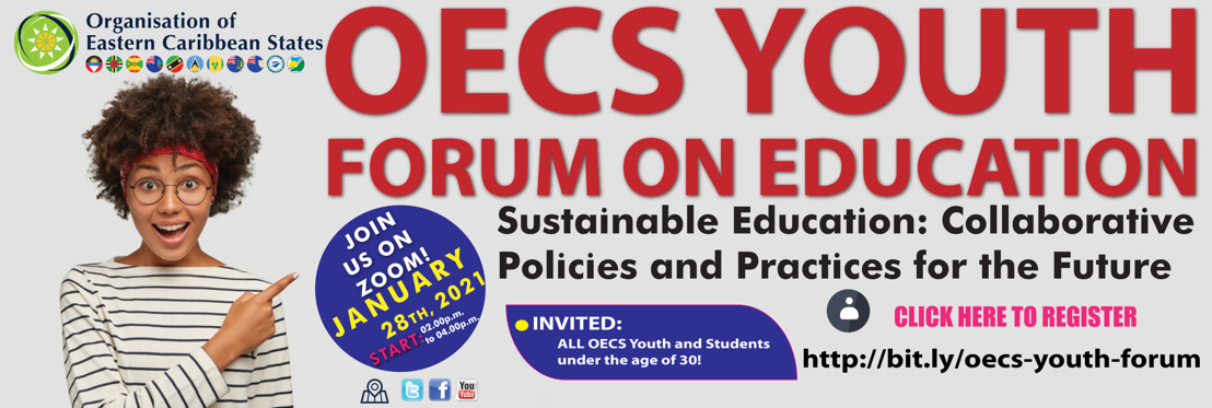 OECS Commission to host Youth Forum on Education