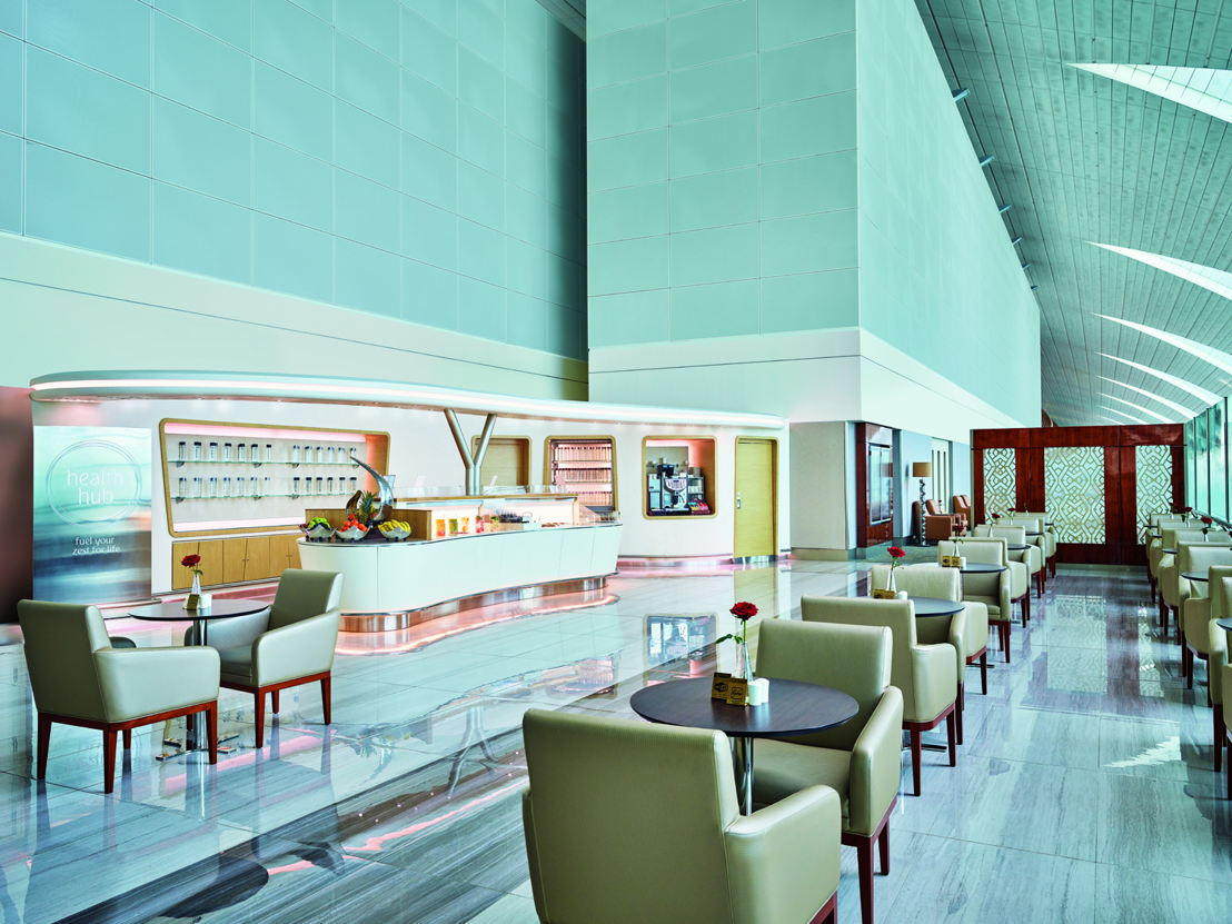 For the health conscious traveller, Emirates has introduced the Health hub