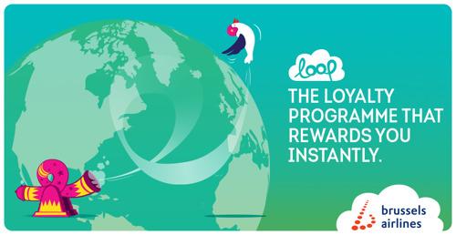 Brussels Airlines extends loyalty program LOOP
