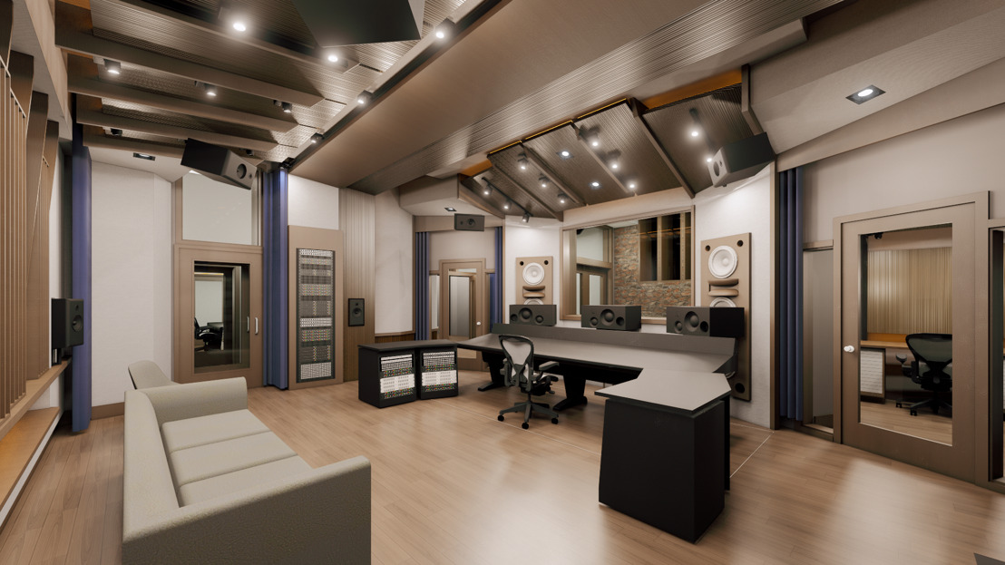 Mix with the Masters Announces Flagship Paris Recording Studio Designed by WSDG