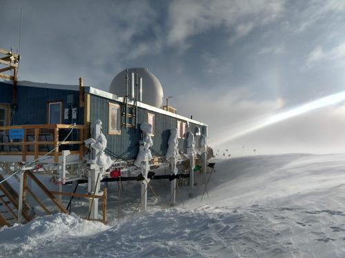 Jacht op neutrino's in Groenland