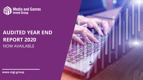 Media and Games Invest publishes audited annual consolidated financial statements for fiscal year 2020