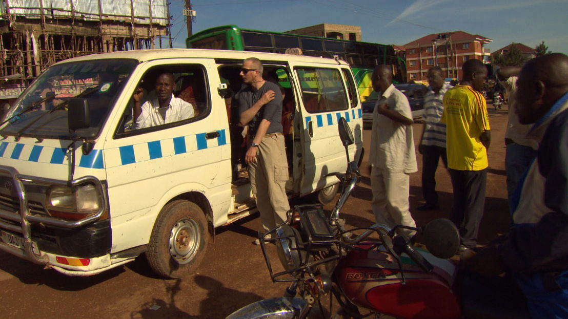 Taxichauffeurs in Oeganda<br/>(c) VRT
