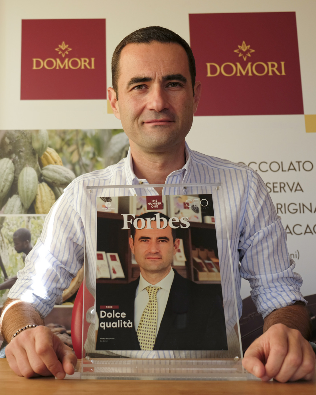 CEO ITALIAN AWARDS 2020: ANDREA MACCHIONE PREMIATO PER LA CATEGORIA FOOD