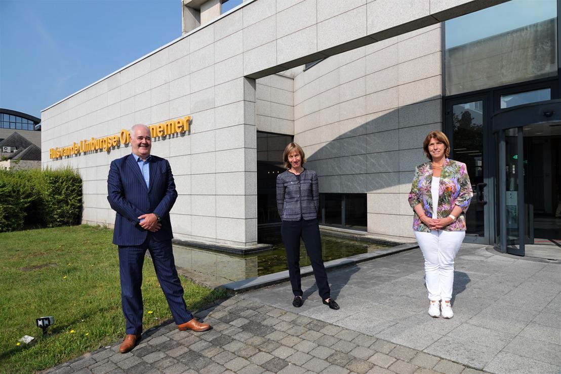 Martine Reynaers inspireert Limburgse ondernemers