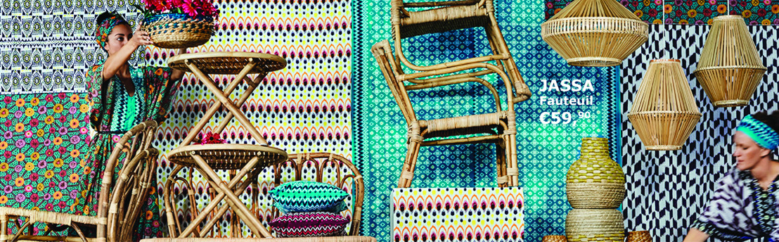IKEA et Piet Hein Eek s'inspirent de l'artisanat vietnamien & indonésien pour créer la collection JASSA