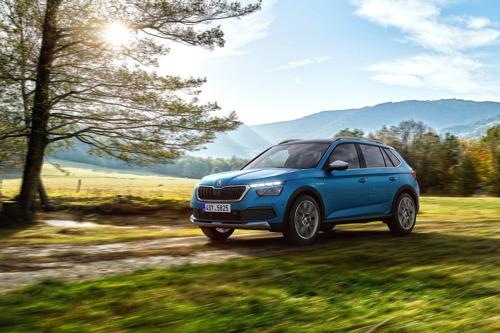 ŠKODA KAMIQ SCOUTLINE: City SUV with adventure appeal