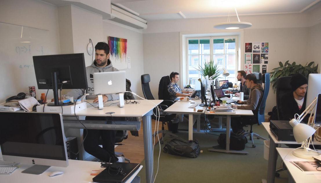 Het kantoor van Emakina in Stockholm