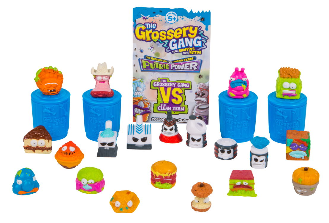 Mega Pack Grossery Gang