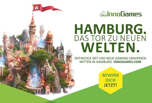 InnoGames startet groß angelegte HR-Kampagne in Hamburg