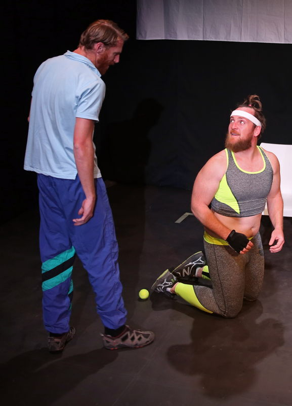 The Game - Redemption with Milton Schorr and Andrew Roux - credit Nardus Engelbrecht Cape Town Fringe 2016