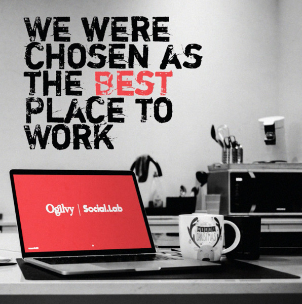 """Preview: Ogilvy Social.Lab is """"Best Place to Work"""""""